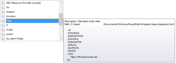 PowerShell.ISE.Snippets.3