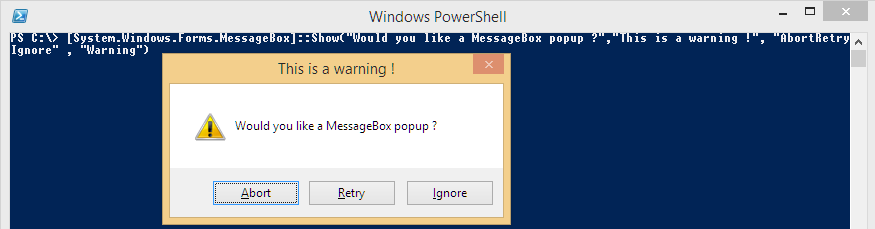 WarningMessageBox