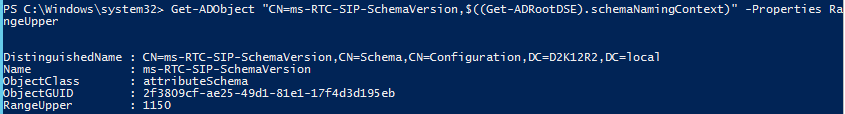 Active Directory Schema for Skype