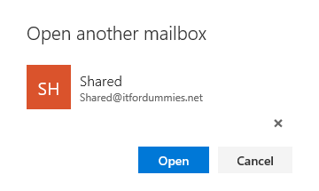Enable Out of Office Shared Mailbox - Validate Shared Mailbox