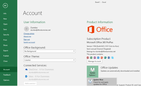 Change Office 365 Pro Plus Update Branch - Force Update